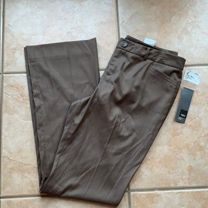 3/$30 NWT Mossimo Brown Pinstripe Modern Boot 12L